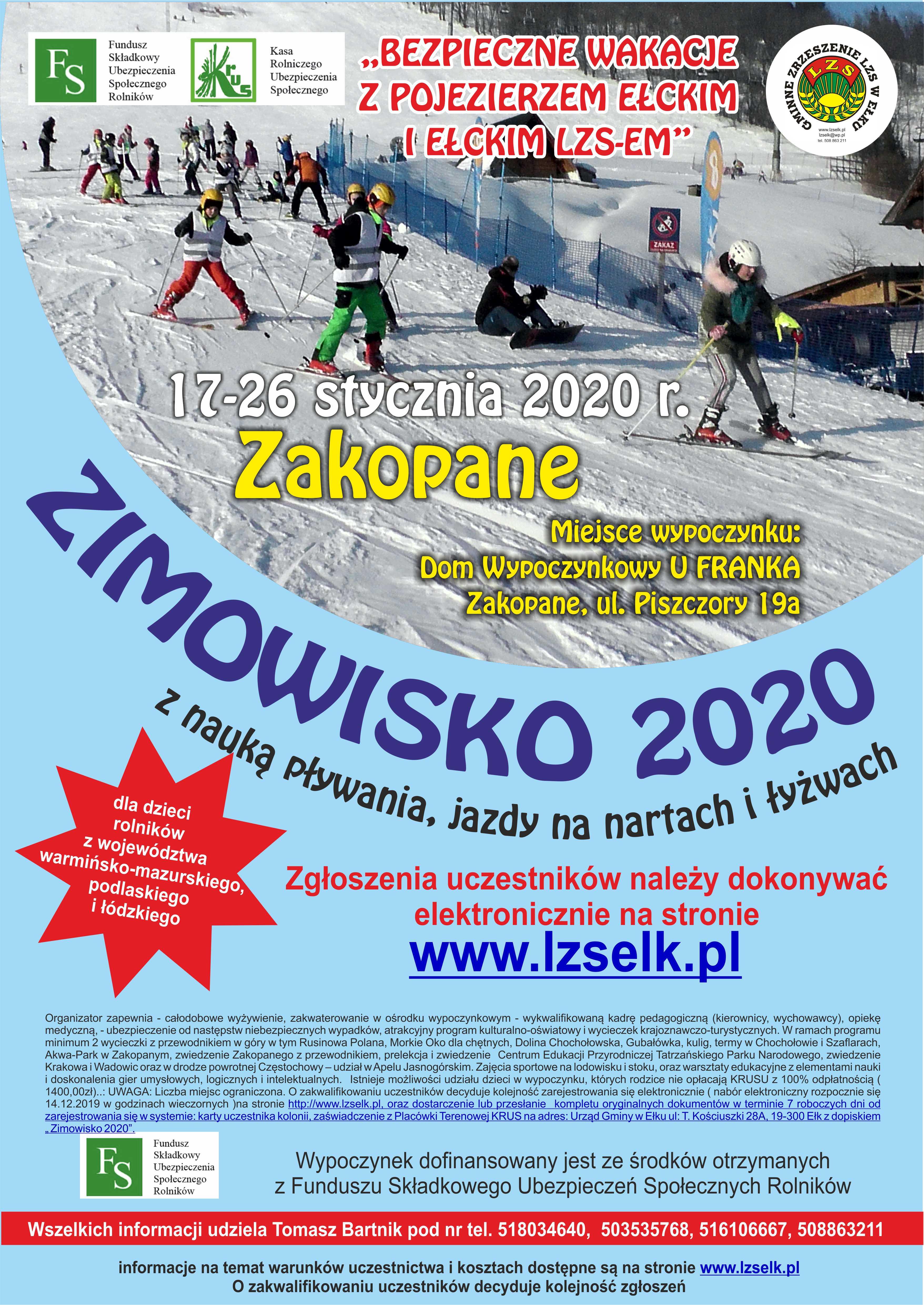 zimowisko 2020